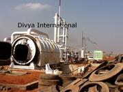 Pyrolysis Plant,  Waste Tyre Recycling Plant