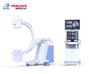 Portable fluoroscopy c arm for sale PLX112B