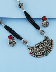 Shop for Oxidised Jewellery and Black Metal Jewellery at best price.
